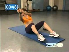 Jillian Michaels ab workout