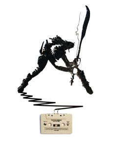 The Clash - Cassette Art - Erika Iris Simmons