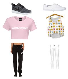 """""""Untitled #36"""" by brooklyen on Polyvore featuring NIKE and French Connection"""