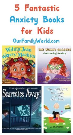 Dealing with feelings of fear and anxiousness when you're a child isn't easy. Check out these five great books to read for kids to help cope with anxiety. (worth checking into) Anxiety In Children, My Children, Children Reading, Quotes Children, Children Health, Kids Health, Understanding Anxiety, Social Emotional Learning, Teaching Social Skills
