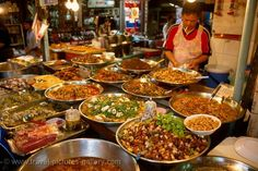 Yummy Pin by .... food markets in Bangkok