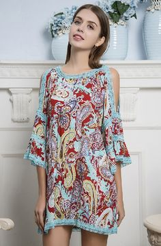 ! 0 A Pasley Spring Open Shoulder Dress
