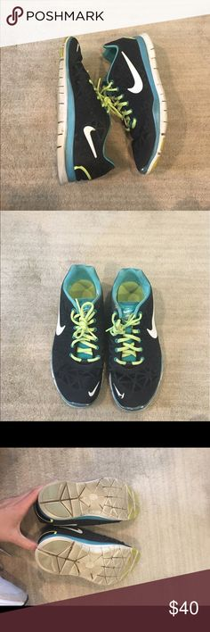 Nike Free Sneakers Previously worn with some wear as pictured. Super comfortable and great for training or running! Open to reasonable offers through feature! Nike Shoes Sneakers
