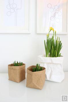 Dekottaa, Kevään kukat pussissa, narsissi, helmililja, pesunkestävät pussit Stockmann
