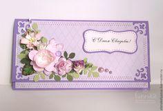 Конверт для денег - Конверт для денег,конверт ручной работы,конверт на свадьбу