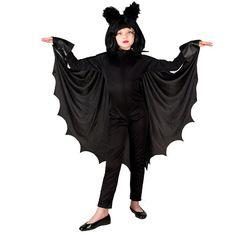 Bat Power αποκριάτικη στολή Νυχτερίδας για κορίτσια ηλικίας έως δώδεκα ετών. Η αποκριάτικη στολή αποτελείται από: την μαύρη Ολόσωμη φόρμα με κάπα και στέκα. Δεν περιλαμβάνει περούκα. Goth, Dresses, Style, Fashion, Gothic, Vestidos, Swag, Moda, Fashion Styles