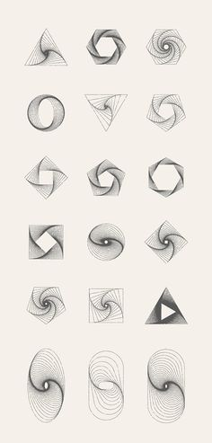 MASSIVE GEOMETRY BUNDLE - Illustrations