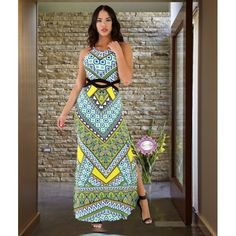 Stained Maxi Dress
