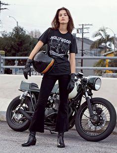 Mercenary Garage: Hollywood  #OphelieGuillermand #GlamourFrance #Mercenary #MercenaryGarage