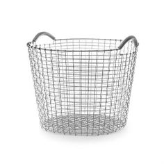 Korbo classic 50 from the Swedish brand Korbo is a multi functional basket that can be used as storage in all room, even outdoor. Perfect for firewood, toys or maybe some cushions and blankets. Korbo has produced hand woven baskets since the early 1920´s when the baskets were used for fishermen and farmers. The baskets are made of high quality steel and are woven by skilled craftsmen!