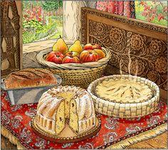 Country Kitchen by Kristin Hurlin @ glenarborartisans.com