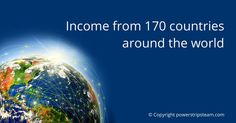 """See, how you can create """"cool income"""" from 170 countries around the world: http://bit.ly/1bQmhdT"""