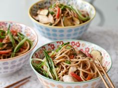Yummy Peanut Noodles, Image: Quentin Bacon