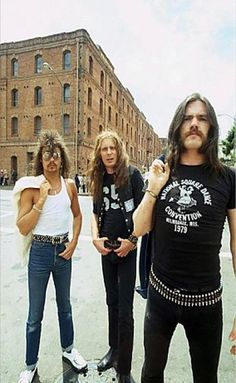 We'd like to have a word with you, sir...Motörhead.