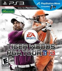 Tiger Woods PGA TOUR 13 (Free Bonus Courses) - - The worlds selling golf game is back and ready for another season of PGA TOUR golf. Put real-life swing in-game with Tiger Woods PGA TOU Latest Video Games, Video Game News, Tiger Woods, Playstation Move, Ps3, Old Xbox, Pga Tour Golf, Play Station 3