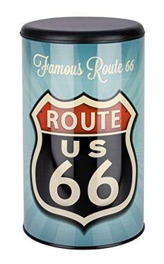 Wenko – Taburete Pongo Todo Vintage Route 66 21591 - http://vivahogar.net/oferta/wenko-taburete-pongo-todo-vintage-route-66-21591/ -