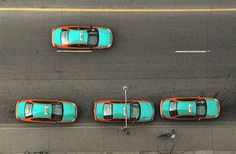 Taxi Colors From Around the World