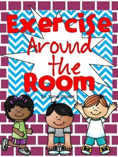 Exercise Around the Room is a great brain break or rainy day recess activity. This is a fun dice game that gets kids moving and exercising!! This product also includes a fun math graphing sheet that can be used to integrate some of those necessary math skills that we love to reinforce!