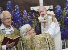 Baptism of Prince Nicolas of Sweden at Royal Chapel