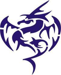 dragon stencil (my favorite so far)