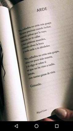 Gritando libertad Book Quotes, Words Quotes, Life Quotes, Sayings, Magic Quotes, Quotes En Espanol, Inspirational Phrases, Tumblr Quotes, Strong Quotes