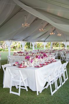 Wedding reception decor, simple and bright! {Rachel Robertson Photography}