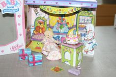 Orig. Mini Baby Born Miniworld Geburtstag (2) in OVP