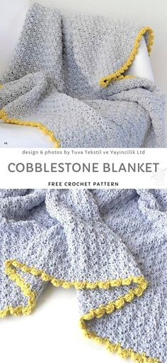 baby blanket Baby blankets are not only for babies! A small blanket can become a lapghan (perfect for covering your legs), or small rug for example. Be open-minded when choosing the next Baby Blanket Crochet, Crochet Baby, Knit Crochet, Crochet Blankets, Quick Crochet, Cute Crochet, Crochet Stitches Patterns, Crochet Projects, Crochet Ideas