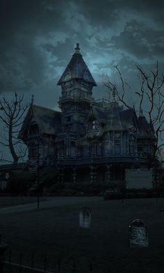 Haunted house. Repinned from Vital Outburst clothing vitaloutburst.com