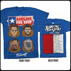 bowling for soup band shirt - Google Search