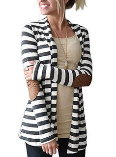 Myobe Women's Collar Thick Striped Open Front Cardigan Sweater Myobe http://www.amazon.com/dp/B016WCWX0O/ref=cm_sw_r_pi_dp_-epUwb05WY44C