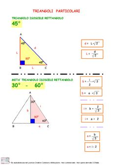 Il Teorema Di Pitagora 2ª Media | AiutoDislessia.net Effective Study Tips, Math Tutor, Algebra, Problem Solving, Physics, Back To School, Homeschool, Science, Teaching