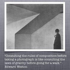 Edward Weston Quote Photo