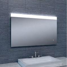 Badkamerspiegel Ambi 100x60cm Geintegreerde LED Verlichting ...