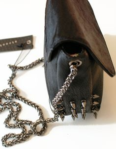 Spiked purse