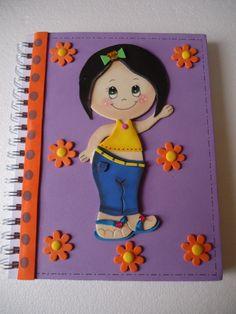 cuaderno realizado por Ana María Cuevas