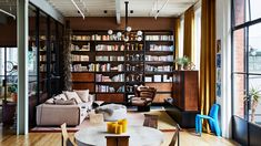 The Design Files: A jaw-dropping apartment in one of Australia's first warehouse conversions Australian Architecture, Australian Homes, Interior Design Studio, Home Interior, Interior Decorating, Decorating Ideas, Decor Ideas, Warehouse Conversion, Workspace Inspiration