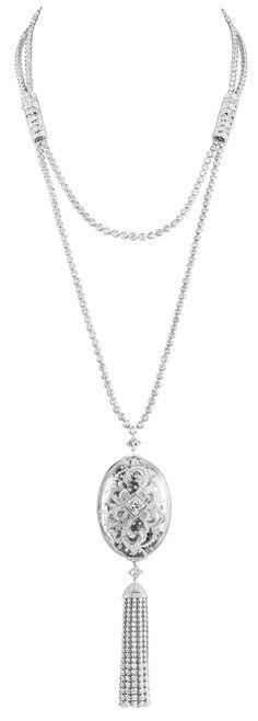 Boucheron Nature de Cristal diamond and rock crystal necklace