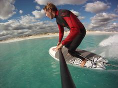 Bend Your Knees when Stand Up Paddle surfing