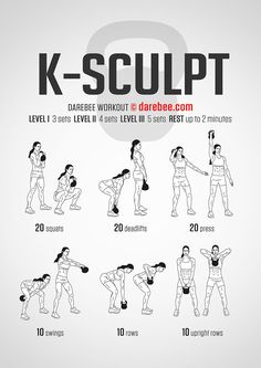 K-Sculpt Workout | Full Body | Difficulty 3/5