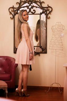 look do dia, ootd, look of the day, outfit, personal style, estilo pessoal, pastel pink dress, cores pastel, tendências, primavera verão 201...