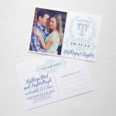 Kathryn Save the Date | Empress Stationery