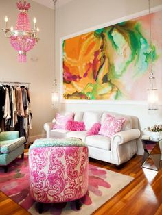 Peinture aquarelle personnalisée, fresques et autocollants – 40 inspirations créatives