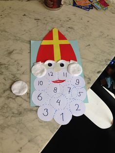 Diy And Crafts, Crafts For Kids, Arts And Crafts, Paper Crafts, Name Day, Saint Nicholas, Crafty Kids, Lets Celebrate, Primary School