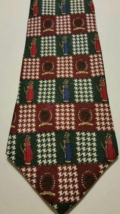 NEW Tommy Hilfiger Geometric 100% Silk Multi Color Classic Mens Neck Tie #TommyHilfiger #NeckTie