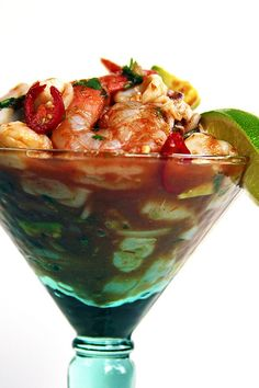 A cool, refreshing seafood cocktail is just right as an easy and elegant appetizer or light main course. Cooking time is minimal and once the basic seafood blend has been prepped, it takes just minutes to finish either variation of this light & flavorful seafood cocktail.