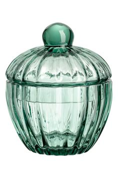Sæbedispenser i glas - Turkis - Home All Glass Containers, Glass Jars, Clear Glass, Beach Kitchen Decor, Pots, Pot Storage, Green Furniture, Master Bath Remodel, H & M Home