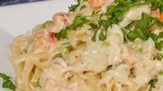 Copycat Red Lobster Crab Alfredo Crab Pasta Recipes, Fish Recipes, Seafood Recipes, Cooking Recipes, Copycat Recipes, Freezer Cooking, Red Lobster Alfredo Sauce Recipe, Seafood Dishes, Pasta Dishes