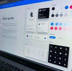 Style Tile, Ui Ux Design, Style Guides, Tiles, Cards, Color, Room Tiles, Tile, Colour