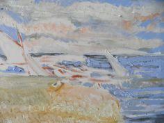 """Segelboote am Strand"" v. Emo"